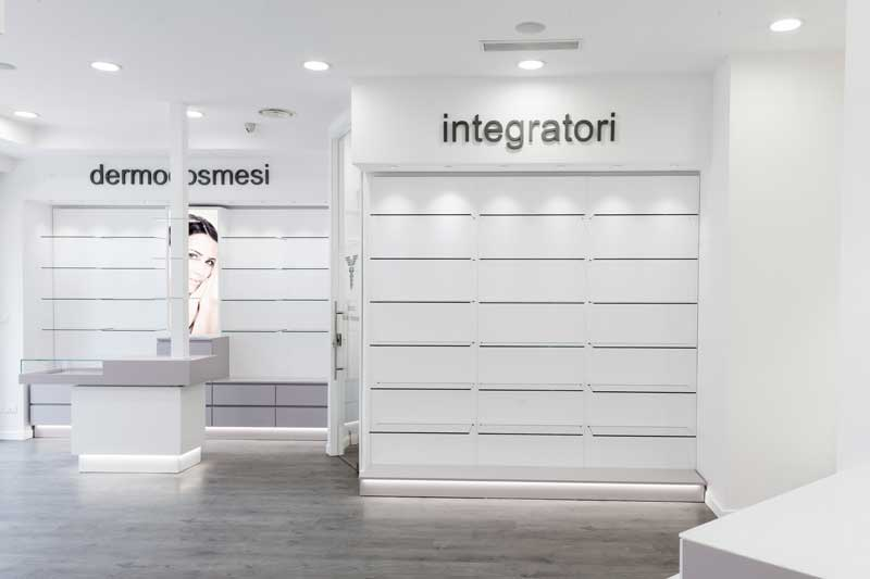 Farmacia Trabucco - Palermo. Realizzazione Gamal Pharmacy