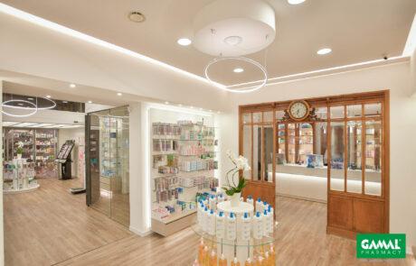Gamal Pharmacy - Realizzazione Farmacia Fiore
