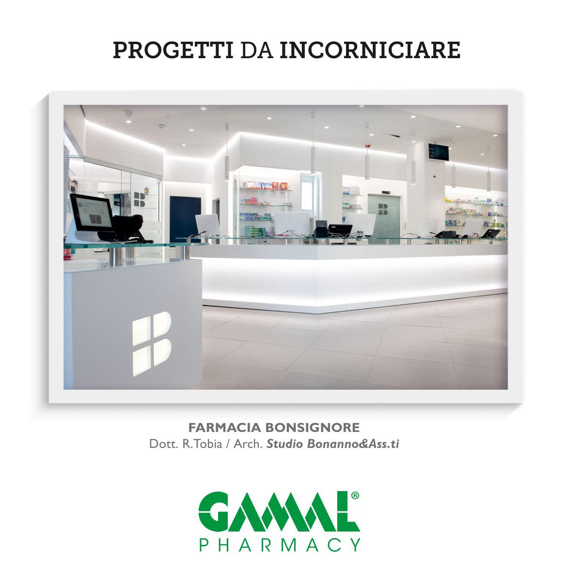 Realizzazioni Farmacie Gamal Pharmacy