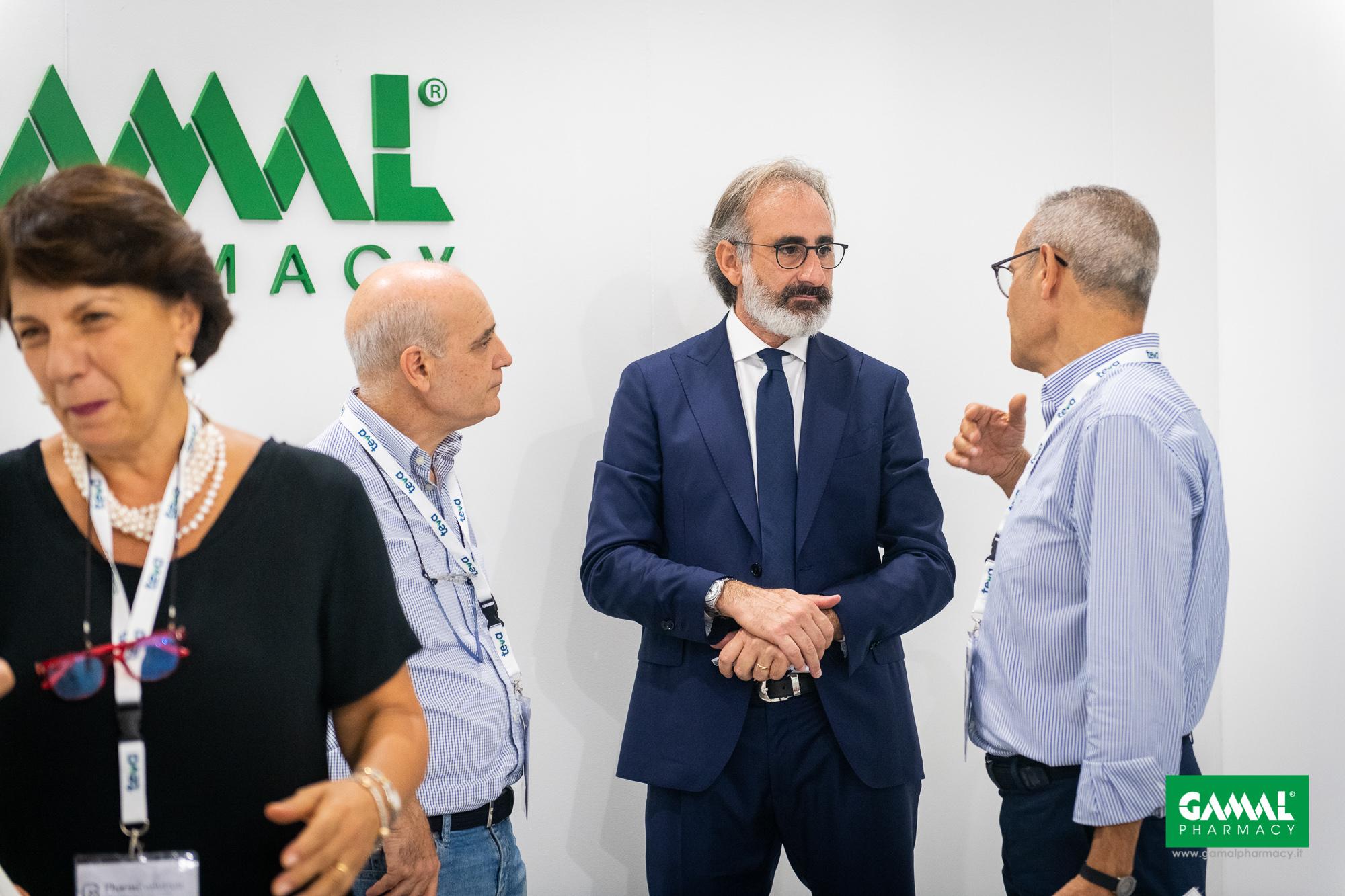 Gamal Pharmacy al PharmEvolution di Taormina